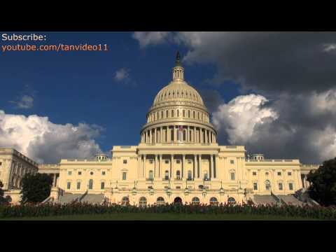 US Capitol Building on Sunny Day in DC - youtube.com/tanvideo11