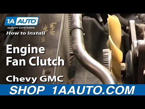 How to Replace Radiator Fan Clutch 96-04 GMC Yukon - YouTube