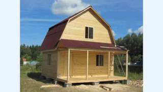 Строительство домов и бань из бруса вариант