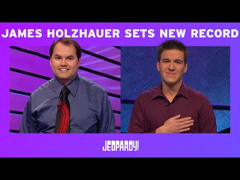 James Holzhauer Beats Roger Craig's 1-Day Record! | JEOPARDY!