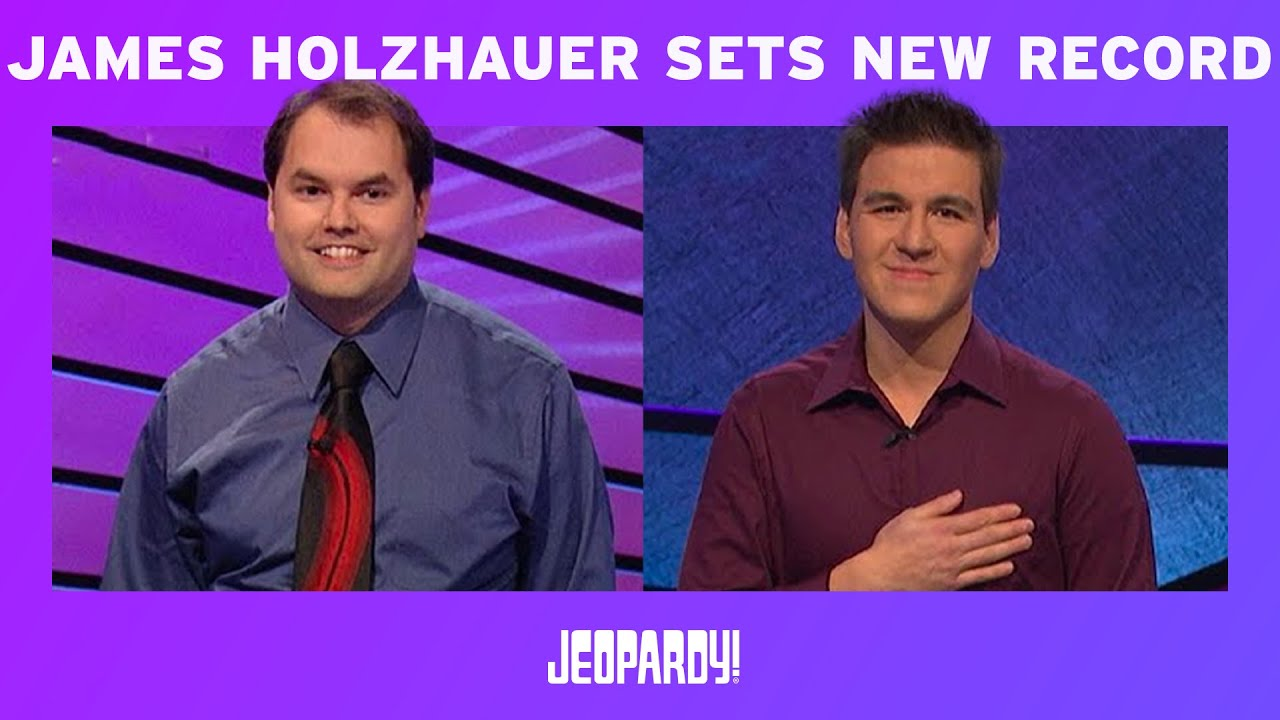 'Jeopardy' contestant James Holzhauer breaks record again