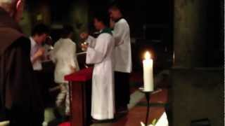 Alliance of the Two Hearts - Receiving the Holy Eucharist kneeling and by tongue