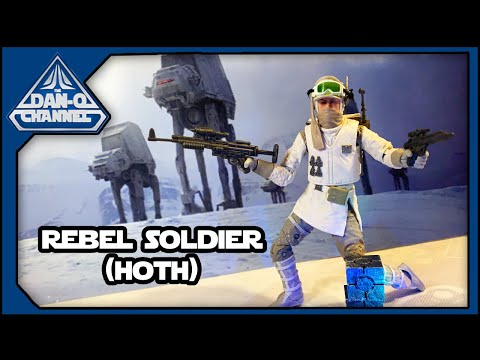 Black Series Rebel Soldier (Hoth) Star Wars The Empire Strikes Back 40th Anniversary #ESB40
