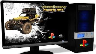 RPCS3 Playstation 3 Emulator - MotorStorm: Pacific Rift, Test run on PC #1