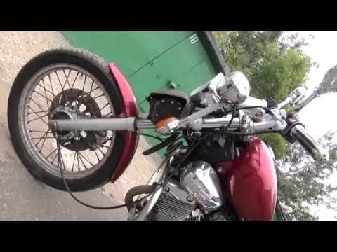 Yamaha XV400 Virago рассказ