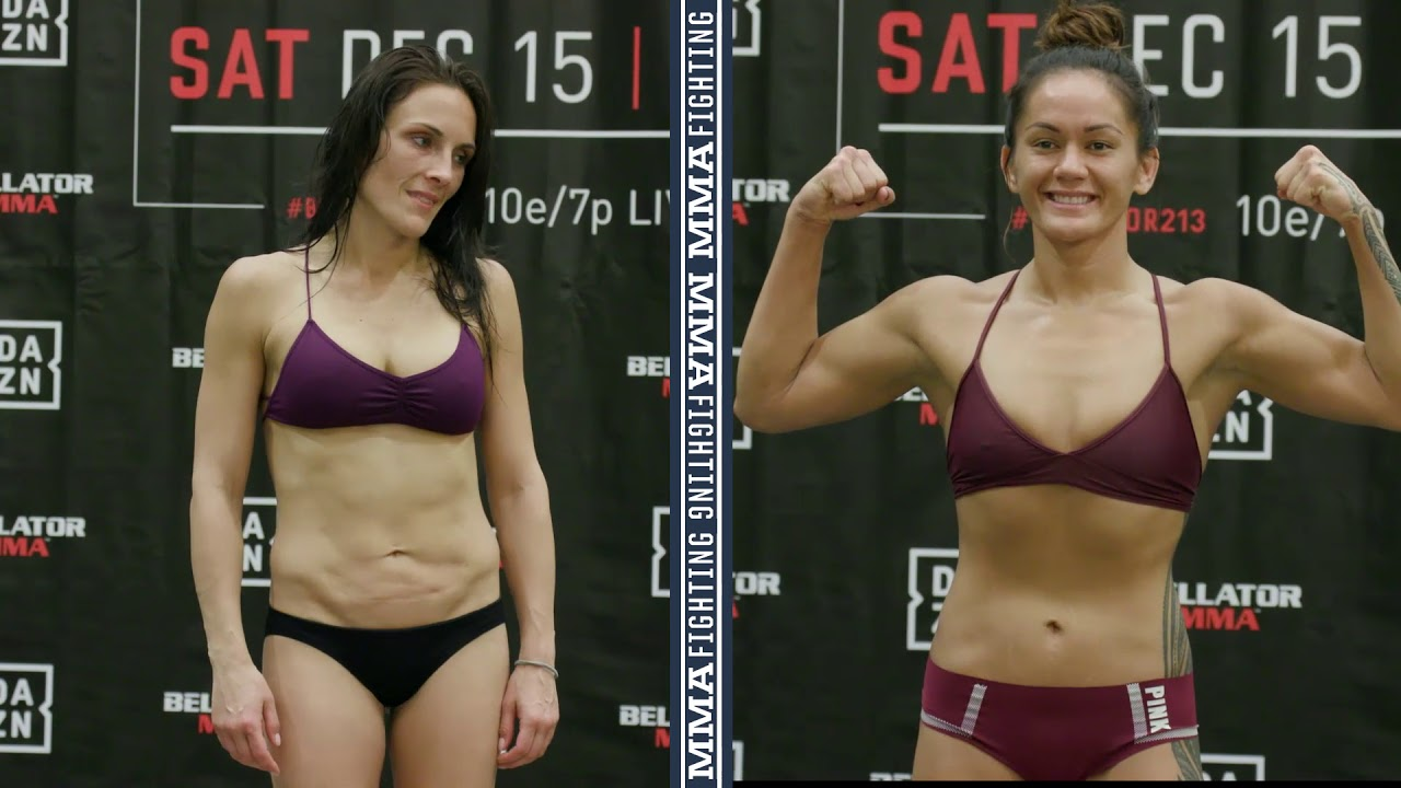 Bellator 213: Ilima-Lei Macfarlane, Valerie Letourneau Make Weight - MMA Fighting