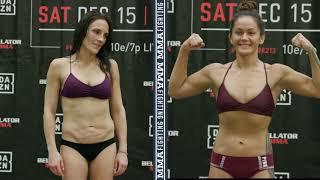 Bellator 213: Ilima-Lei Macfarlane, Valerie Letourneau Make Weight - MMA Fighting