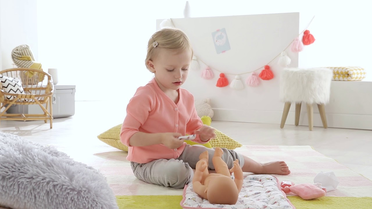 Corolle Mon Grand Poupon Changing Accessories Set Toy Baby Doll