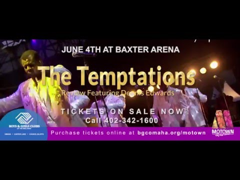 The Temptations live in concert to support the Boys & Girls Clubs of the Midlands