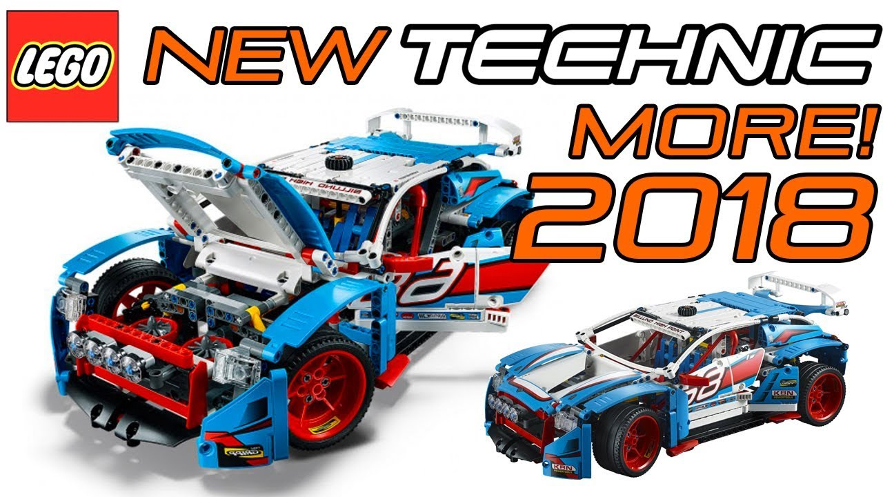 new 2018 lego technic rally car set 42077 official. Black Bedroom Furniture Sets. Home Design Ideas