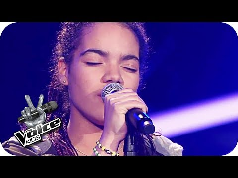 Macy Gray - I try (Nora) | The Voice Kids 2017 (Germany) | Blind Auditions | SAT.1