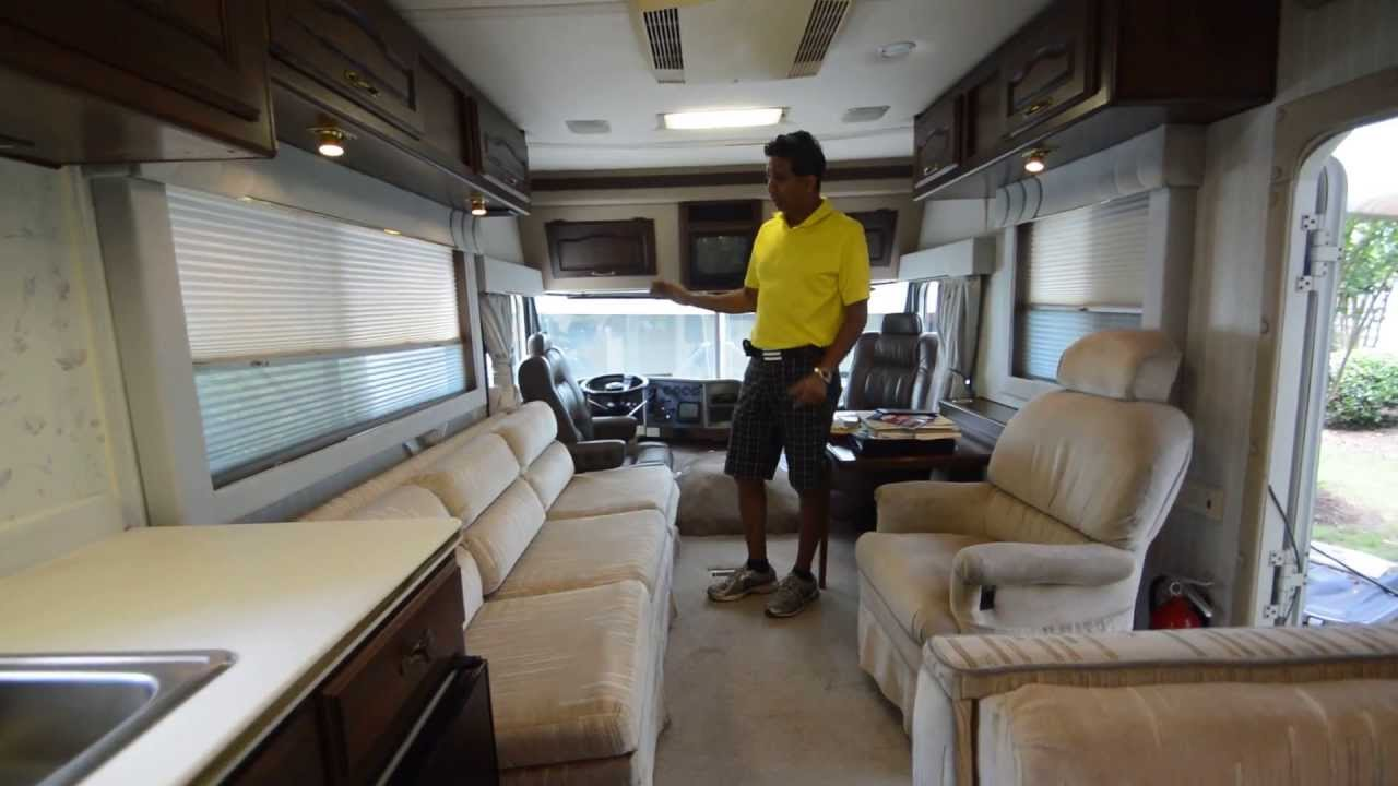 1991 Holiday Rambler 37 Classic Detailed Video With