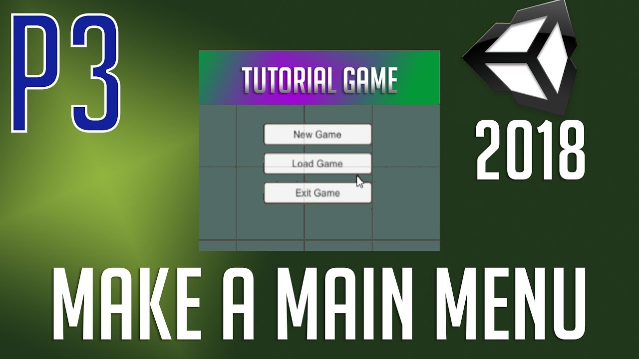 How to Make a Main Menu Screen | [Part 3] Load Menu Popup, Close Menu  Button | Unity 2018 Tutorial