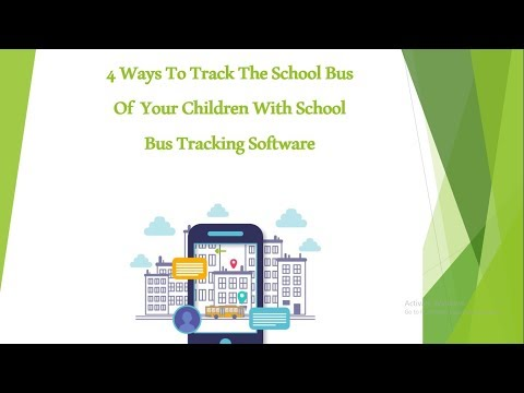 How School Bus Tracking Software Can Track The School Bus