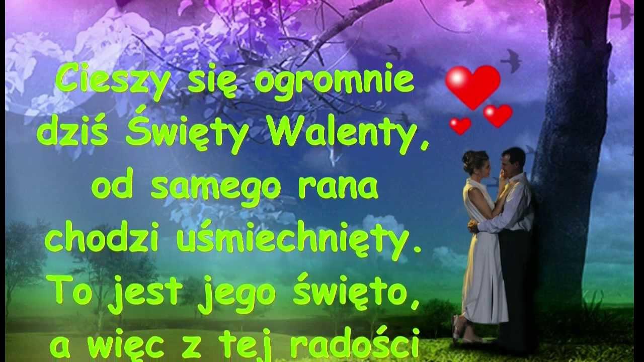 życzenia Walentynkowe: Życzenia Walentynkowe # 1
