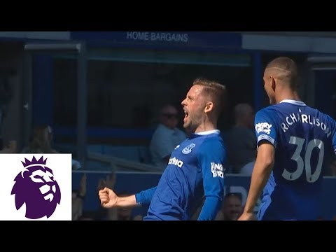 Gylfi Sigurdsson's long-range shot makes it 2-0 against Man United | Premier League | NBC Sports