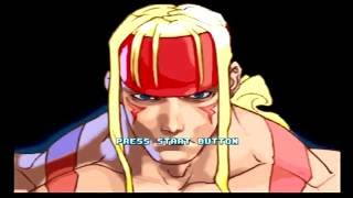 Street Fighter III Double Impact Gameplay (Dreamcast)