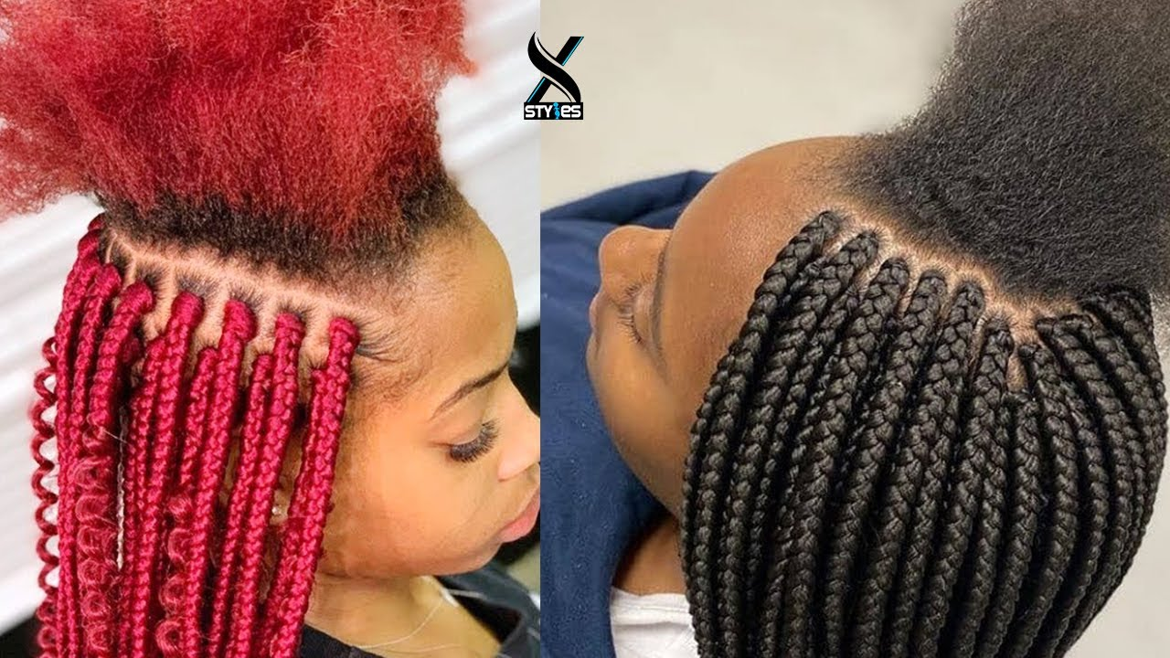 2020 Trending New Braiding Hairstyles 2020 Latest Braids Hairstyles For Ladies In This Season Youtube
