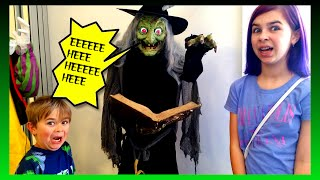 halloween costume decorations shopping   scary fun family vlog