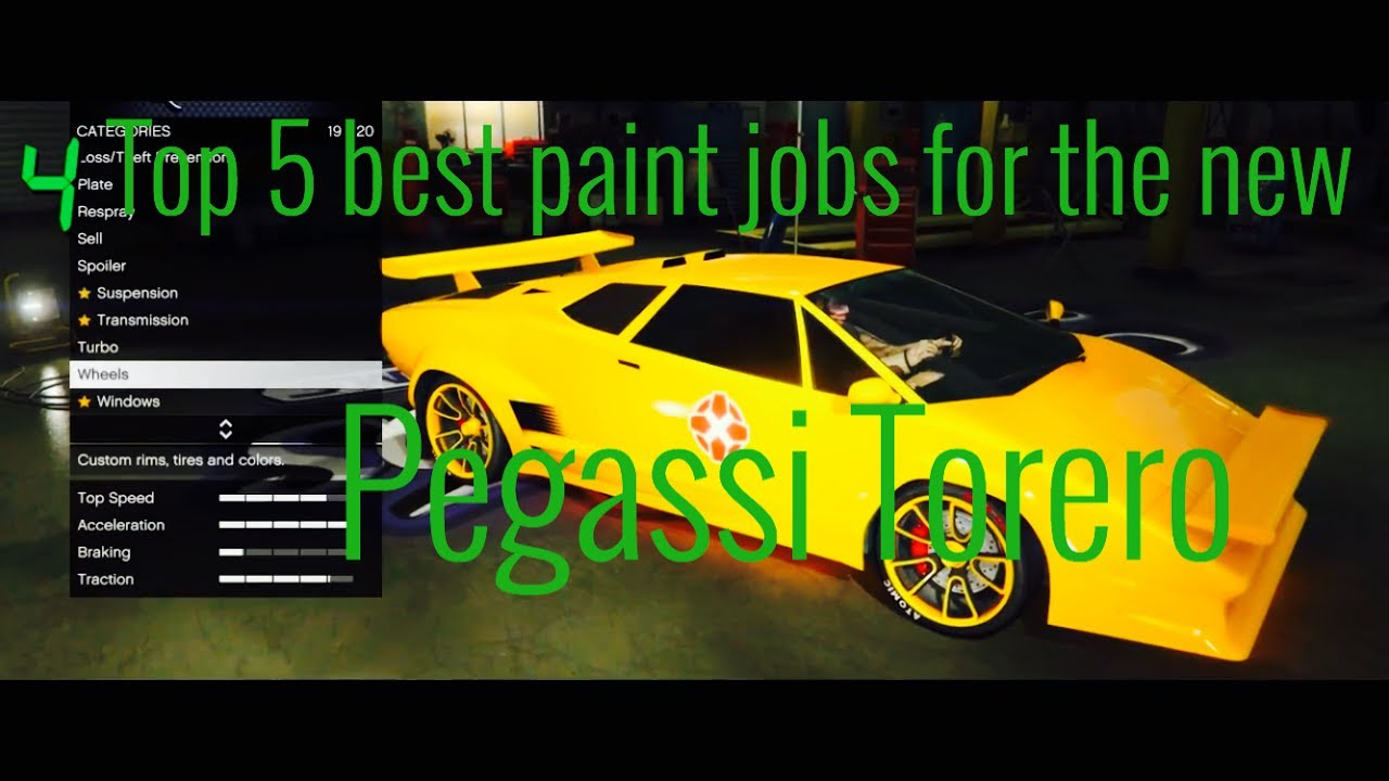 Download Lagu Top 5 Best Paint Jobs For The New Pegassi