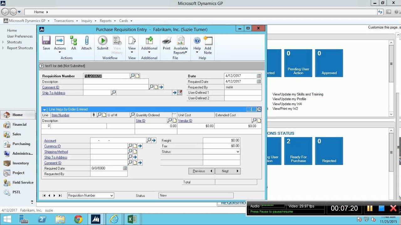 microsoft dynamics gp training youtube rh youtube com Microsoft Dynamics GP Tutorial great plains software training manual