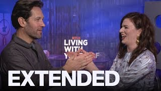 Paul Rudd And Aisling Bea Talk 39Living With Yourself39  EXTENDED