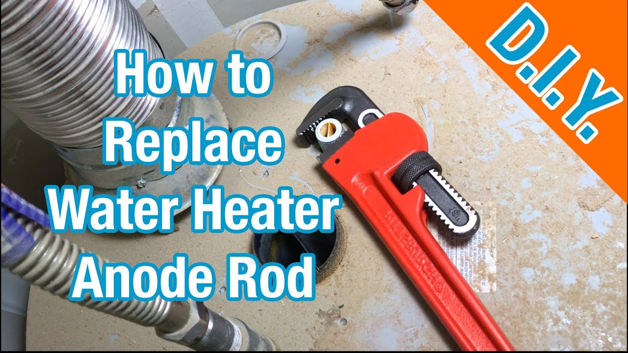 How To Replace Water Heater Anode Step By Step Youtube