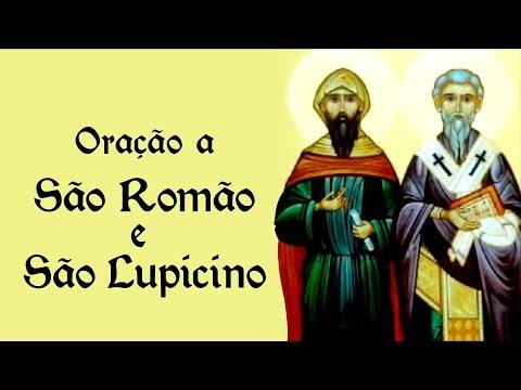 Oração a São Romão e São Lupicino - 28 de fevereiro