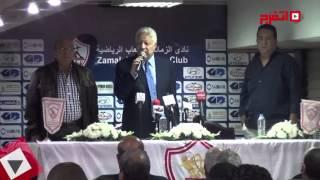 مرتضى منصور: «عباس» عايز 42 مليون ومعملش «تواليت» في النادي (اتفرج)