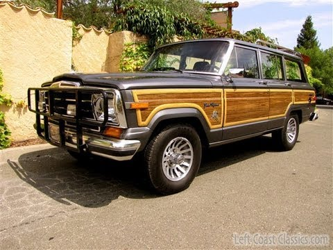 1989 jeep grand wagoneer for sale in sonoma ca youtube. Black Bedroom Furniture Sets. Home Design Ideas