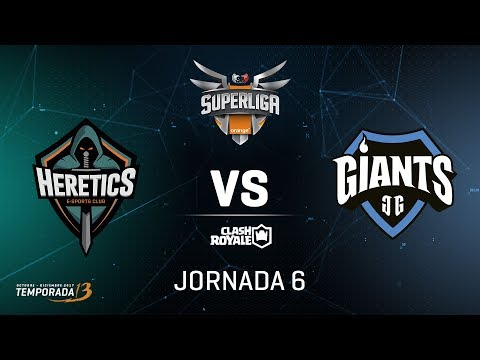 SUPERLIGA ORANGE - Team Heretics VS Giants Gaming - Jornada 6 - #SuperligaOrangeCR6