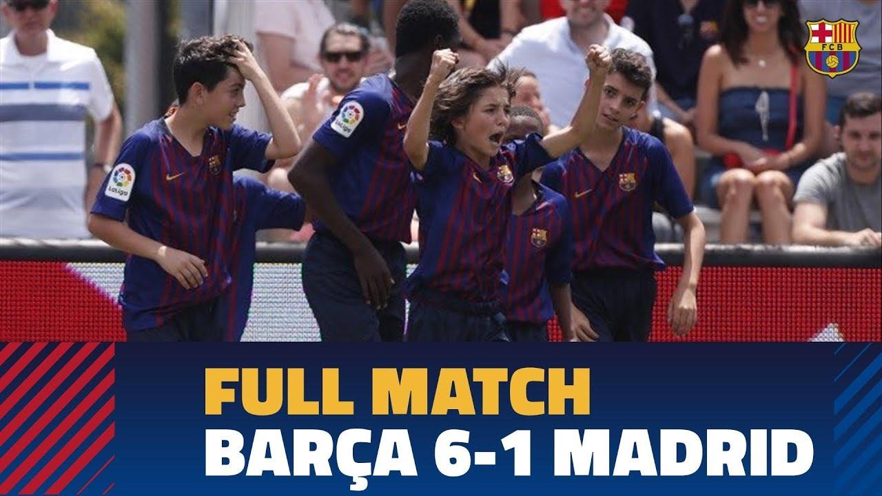 FULL MATCH | LaLiga Promises International 2019 | FC Barcelona 6-1 Real Madrid