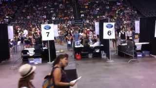 OKC American Idol audition 2012