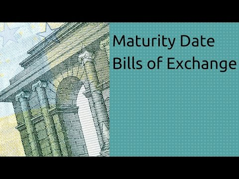 Maturity Date of Bills of Exchange | Accounting | CA CPT | CS & CMA | Class11 | Class12