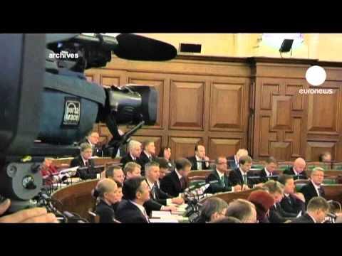 Latvian president dissolves parliament
