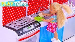 Video Play with Barbie and Chelsea Dolls and House Cleaning Toys! 🎀 download MP3, 3GP, MP4, WEBM, AVI, FLV April 2018
