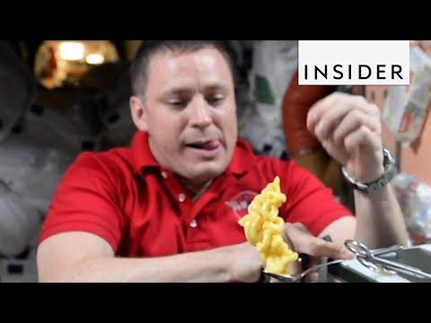 Eating Food in Space