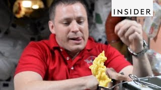 What It's Like To Eat Food In Space