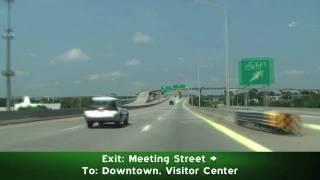 The Ravenel Bridge & I-26 West: Charleston, SC