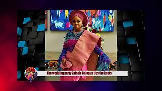 Zainab Balogun ties the knots