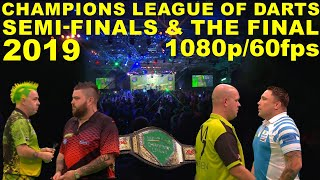 Gambar cover SEMI'S & FINAL 2019 Champions League of Darts HD1080p/60fps