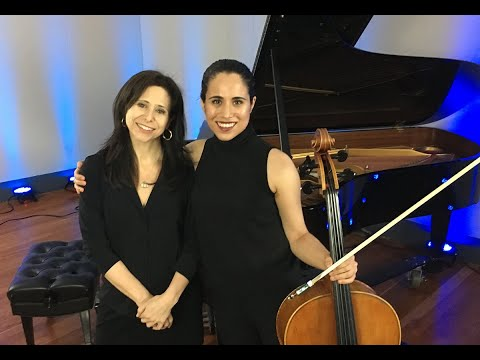 Cellist Christine Lamprea and Pianist Navah Perlman Play Schumann, Debussy LIVE from WRTI in Phila.