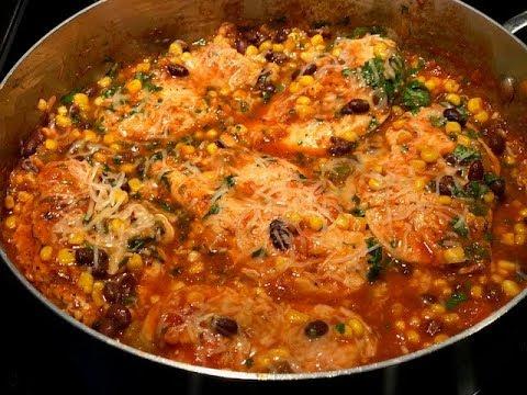 Mexican Chicken--One Pot Wonder
