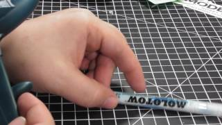 Product Review & Demo: Molotow 2 mm masking liquid marker
