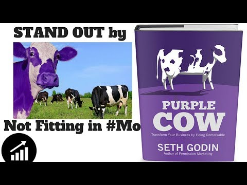#43 - Purple Cow: Transform Your Business by Being Remarkable - Book review