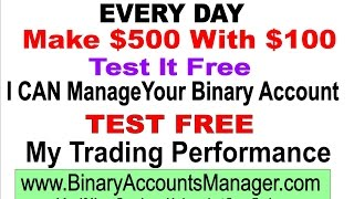 Binary Options - 60 Second Time Frame Trading Strategy 2015