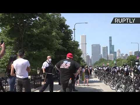 'Back the Blue' | March in support of police hits Chicago