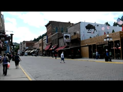 Visiting Deadwood, South Dakota 2015