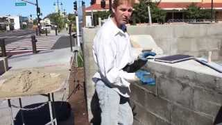 Rendering cement plaster on concrete or cmu walls