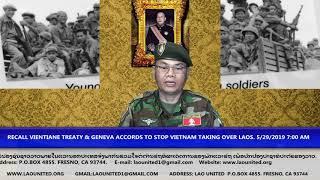 Laonet.Tv Episode RECALL VIENTIANE TREATY TO STOP VIETNAM TAKING OVER LAOS.